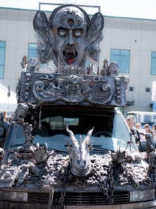 A photo of the DarkRide Art Car
