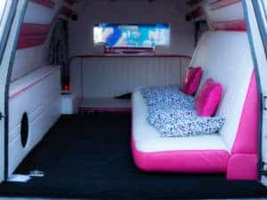 Barbie Dream Hearse Interior