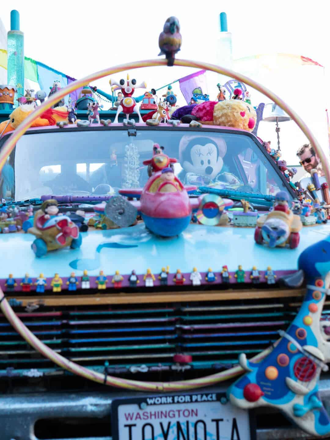 Toynota Seattle Art Cars Fremont Fair Art Cars