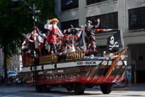 Seattle Seafair Torchlight Parade Pirates
