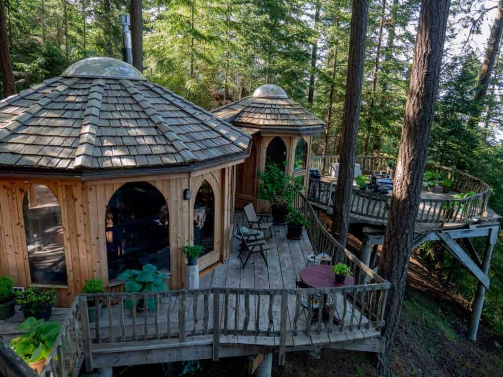 The Forest House on Orcas Island