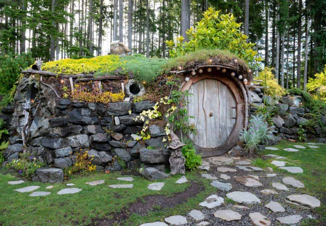 The Hobbit House at the Brothers Greenhouses Washington State Hobbit Houses