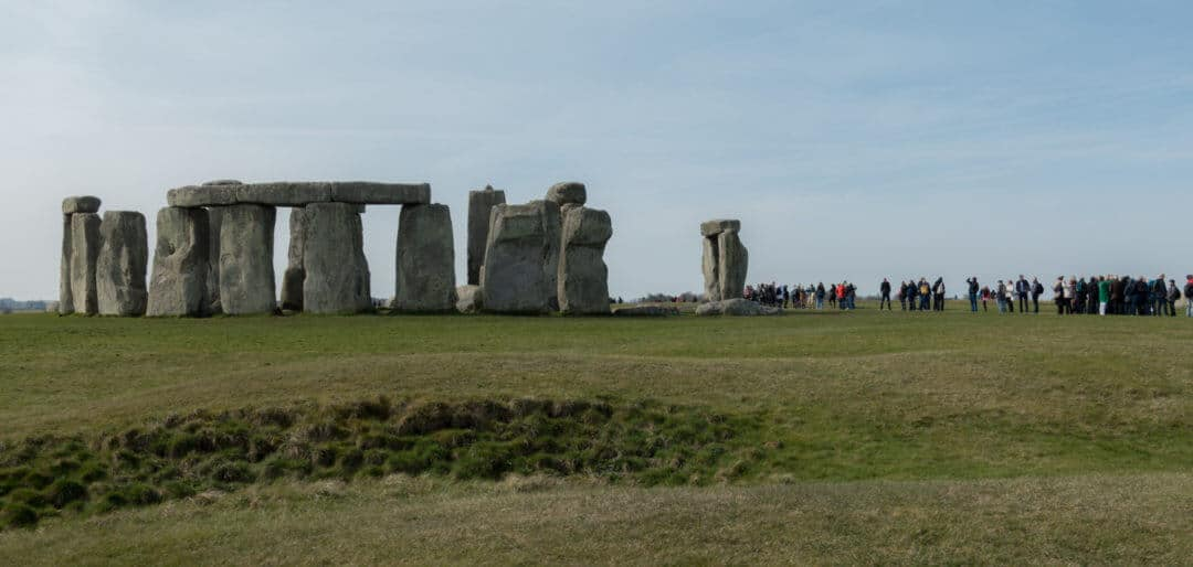 Stonehenge visitors