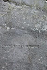 Old Graffinit at Stonehenge