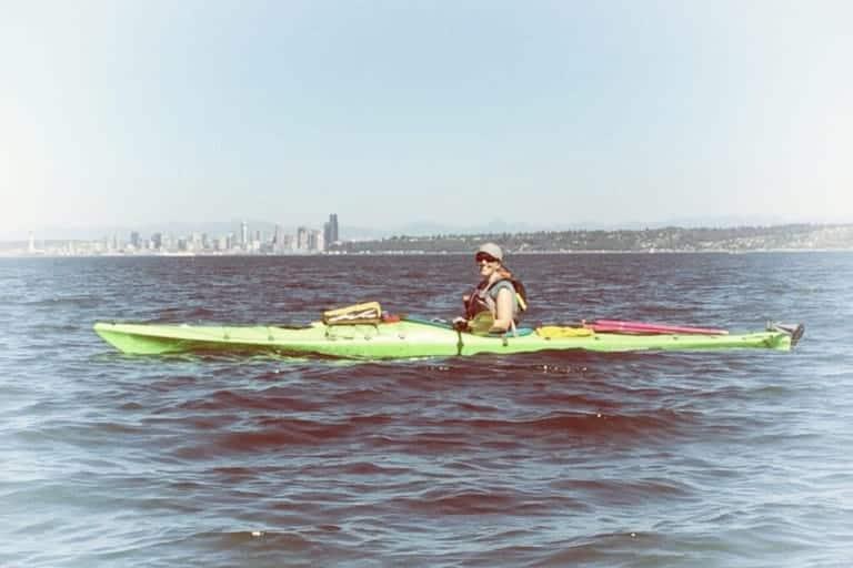 Blake Island Kayaking and Camping