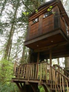 Bonbibi a treehouse at Trehouse Point