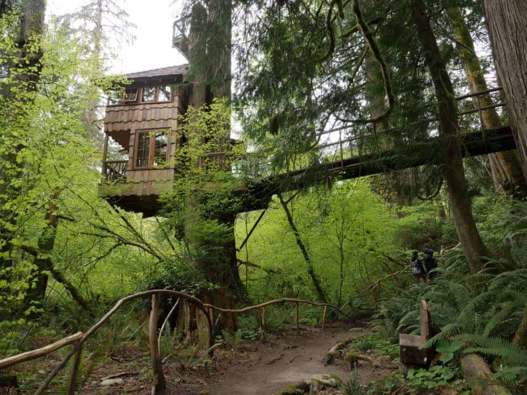 Treehouse rentals near me Treehouse rentals Washington State at Treehouse Point