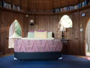 bedroom at The Forest House