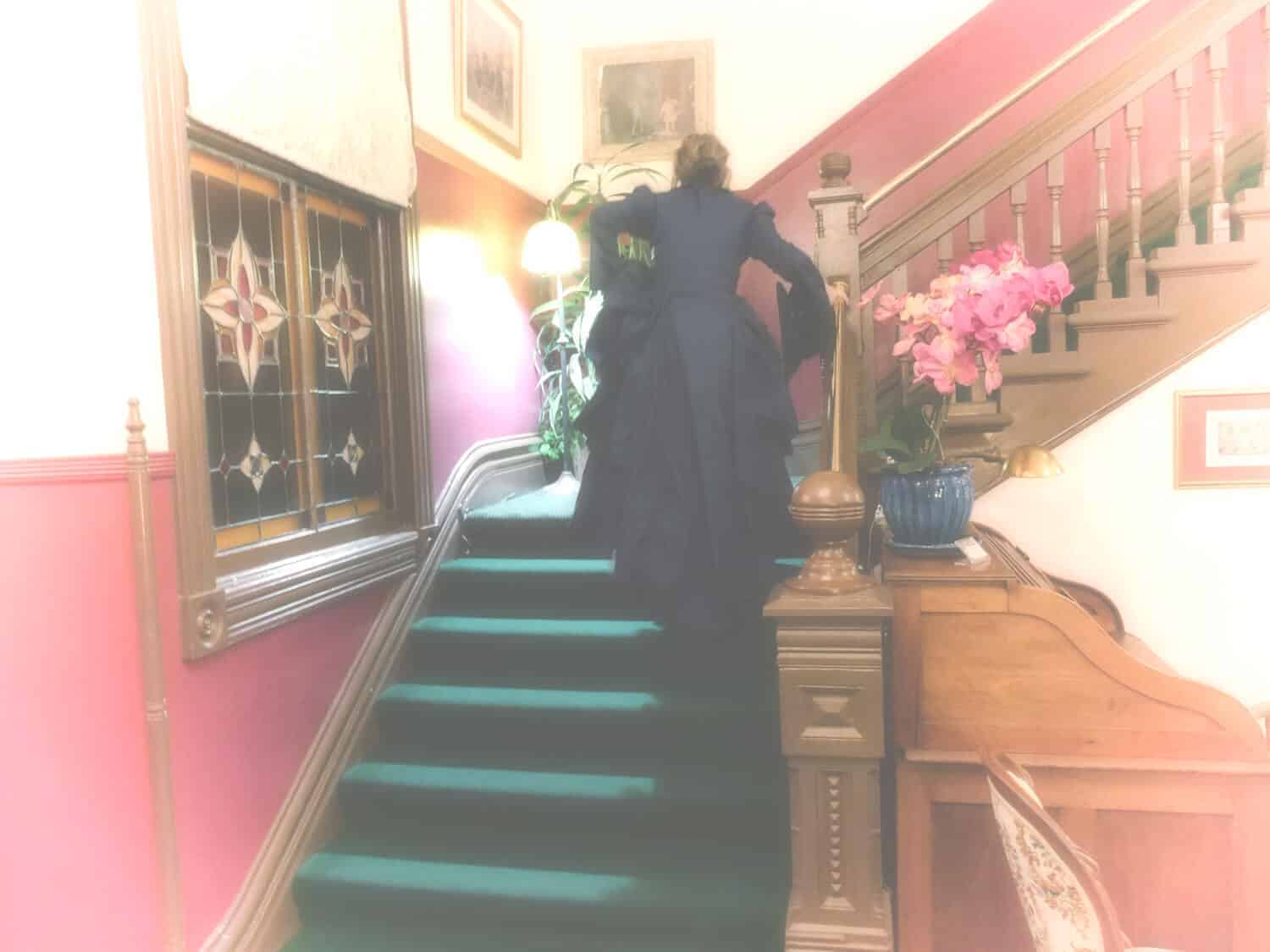 haunting the hotel at the Port Townsend victorian festival
