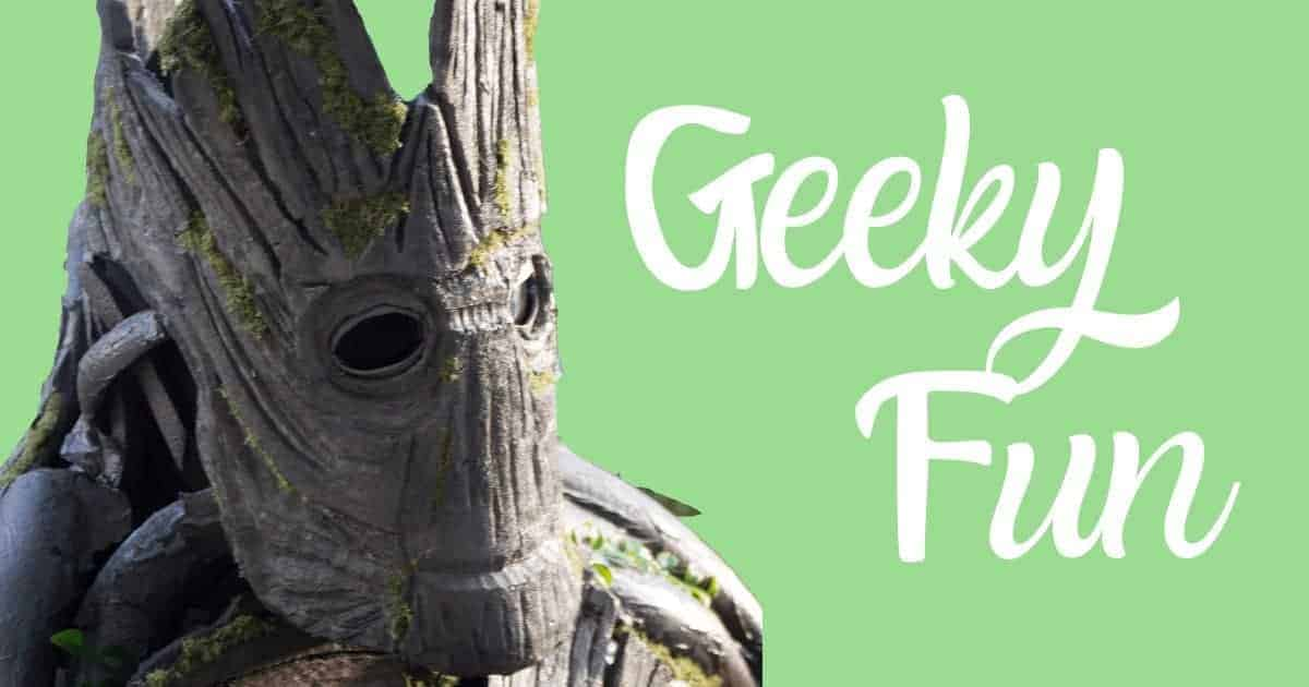 Geeky Fun Picture With Groot