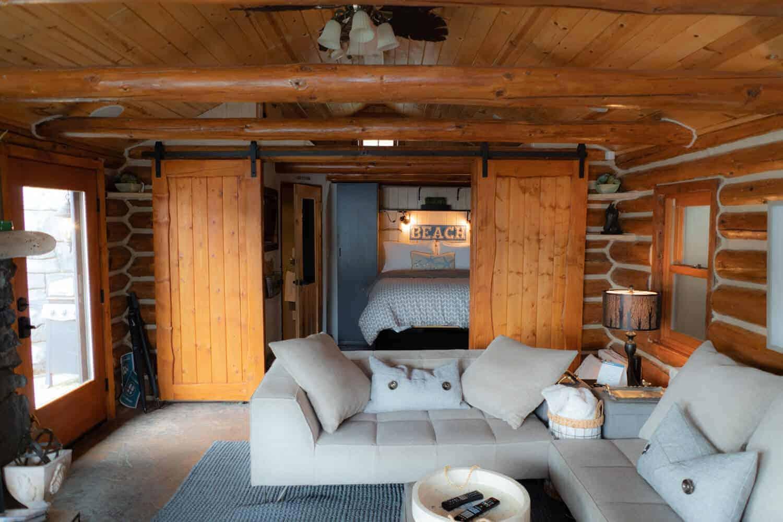 lake cabin rentals near seattle bedroom of romantic waterfront cabin near seattle