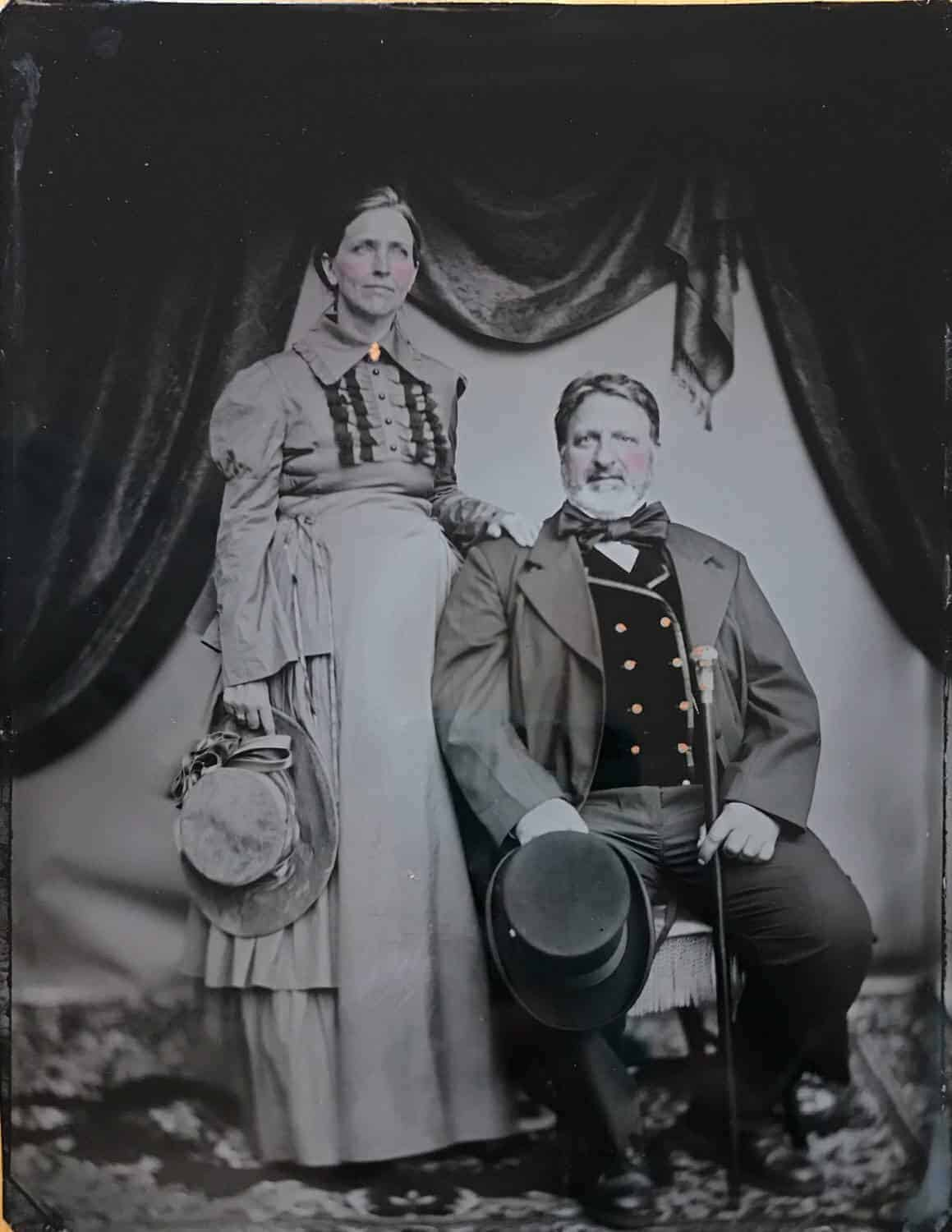 tintype at the Port Townsend Victorian Festival