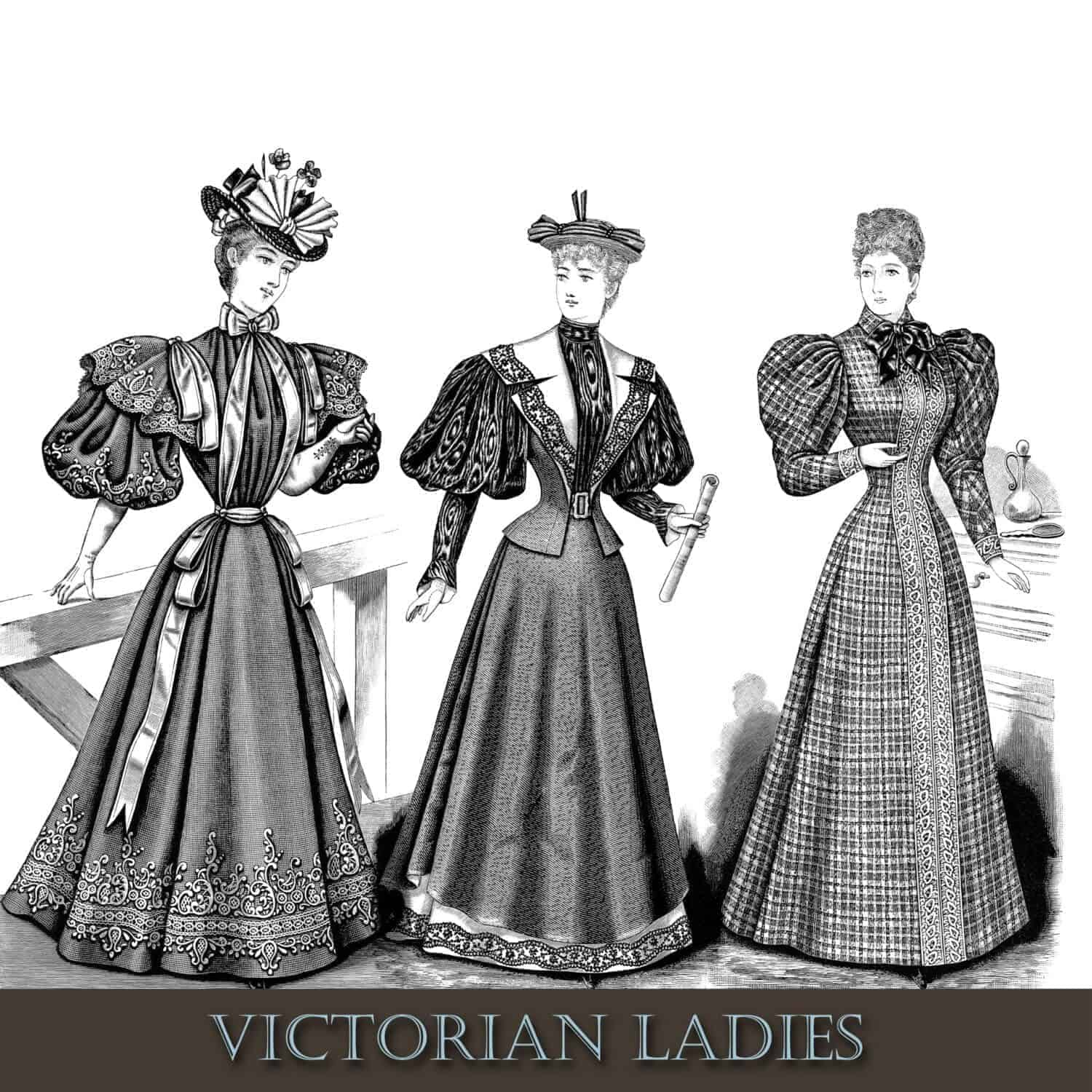 Victorian Women's Clothing