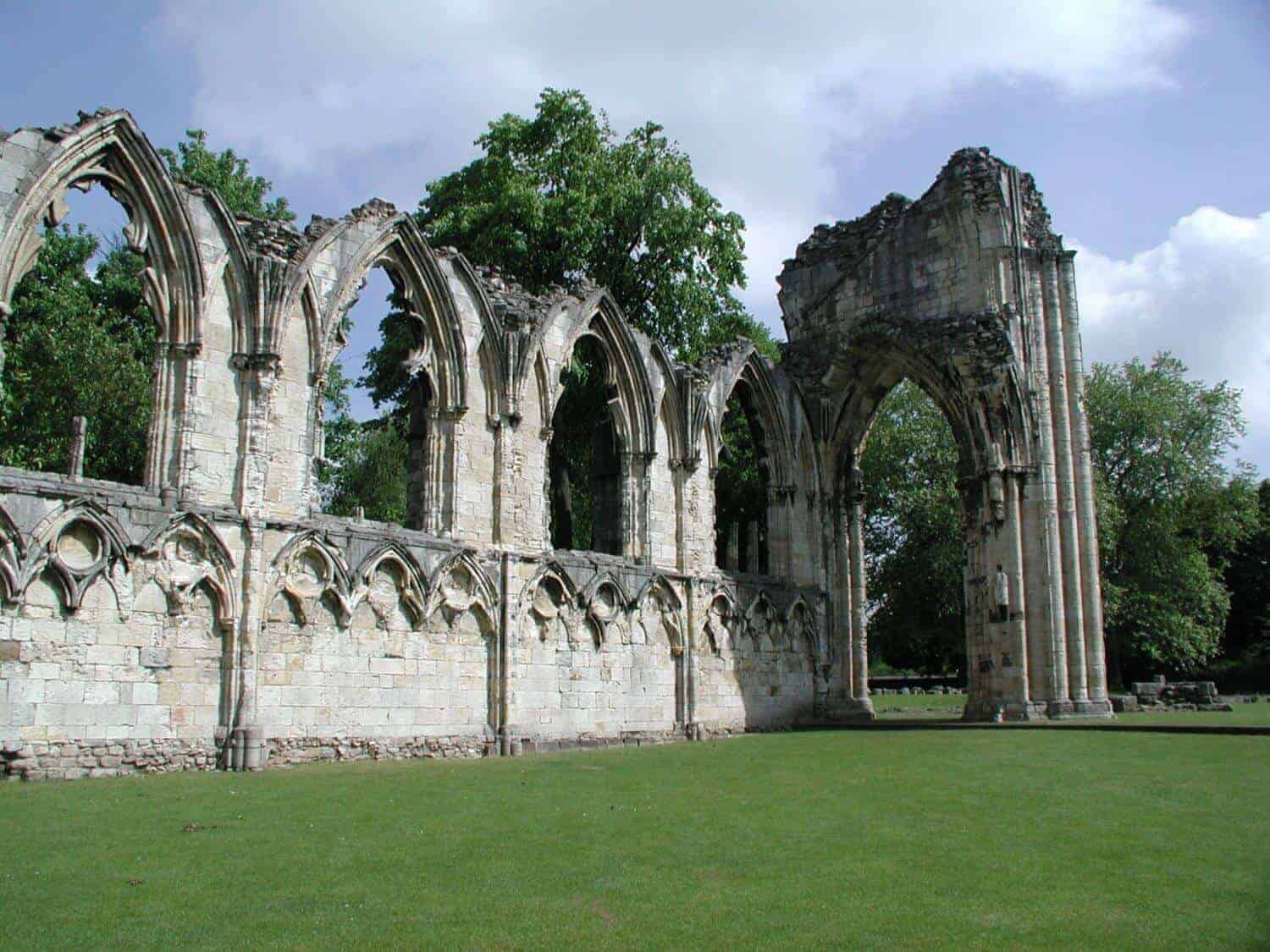 Things to do in York St. marys abbey