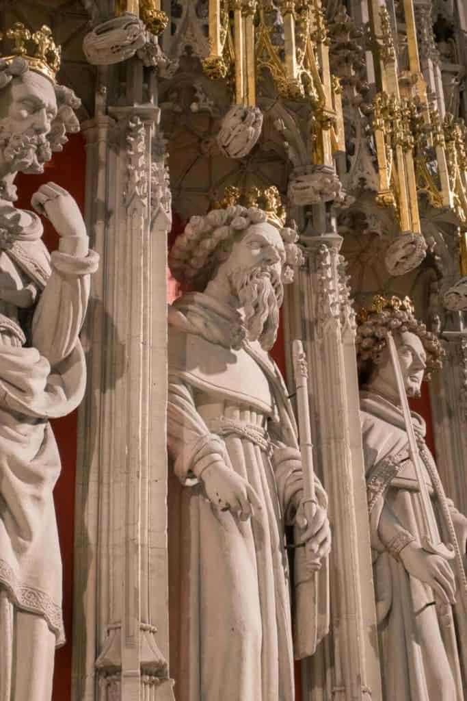 Richard III from York Minster Choir Screen
