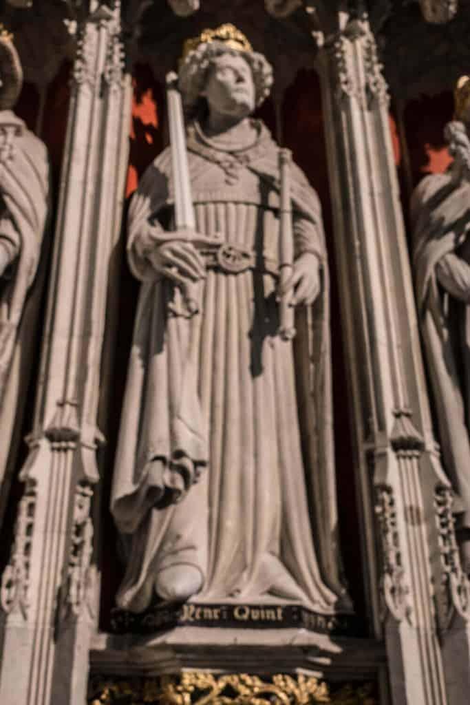 Henry V from York Minster Kings Screen