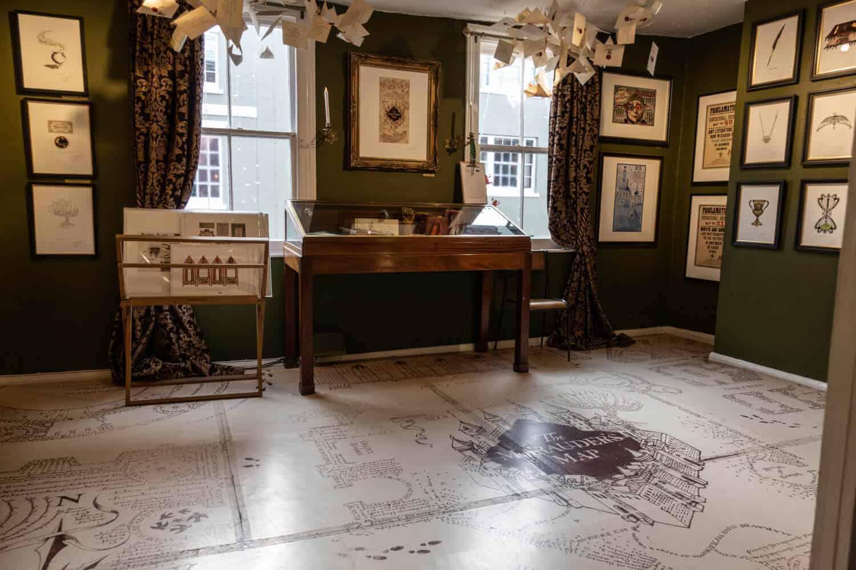 House of MinaLima Harry Potter Gallery London