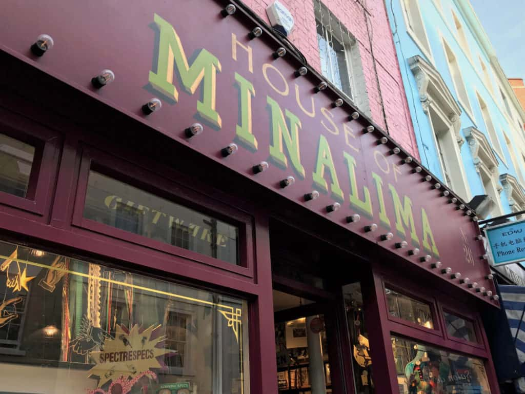 House of MinaLima a Harry Potter gallery in London