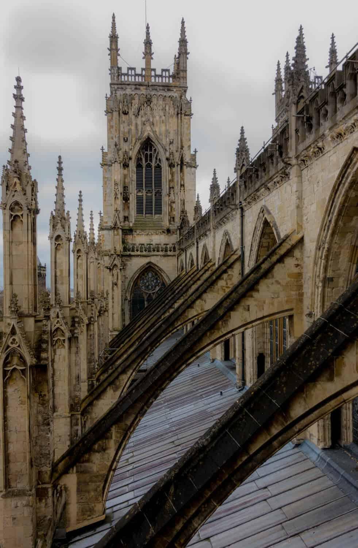 Visiting York Minster roof