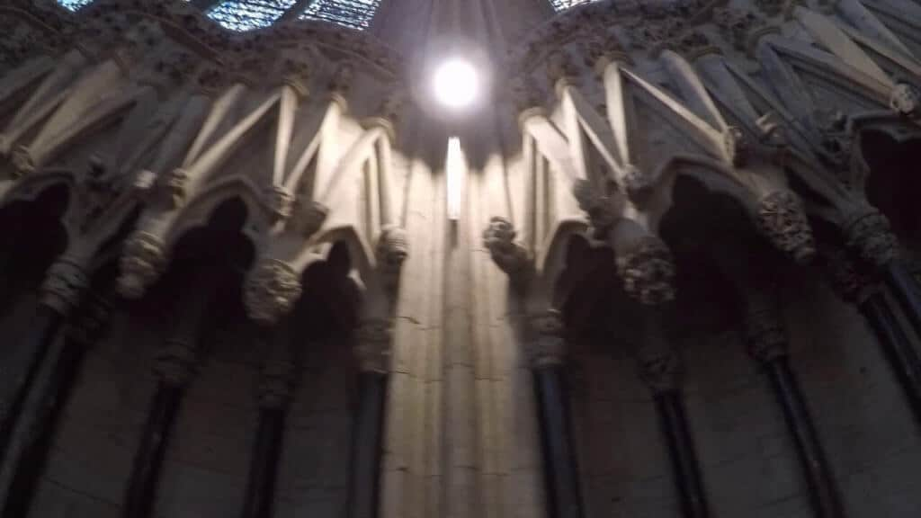 Video of York Minster Chapter House Heads