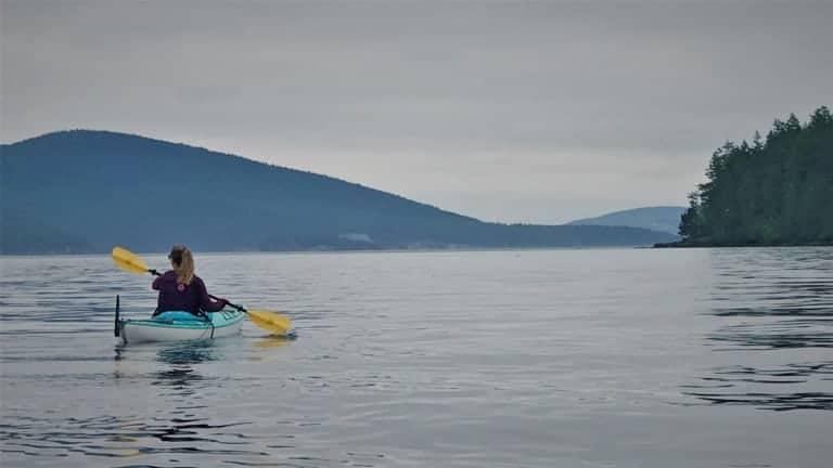 Kayaking Obstruction Island