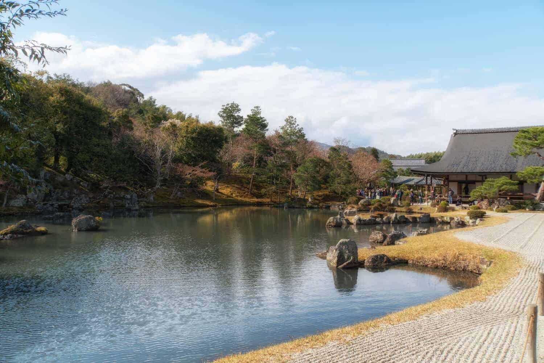 Arashiyama Kyoto Tenryu-ji Temple