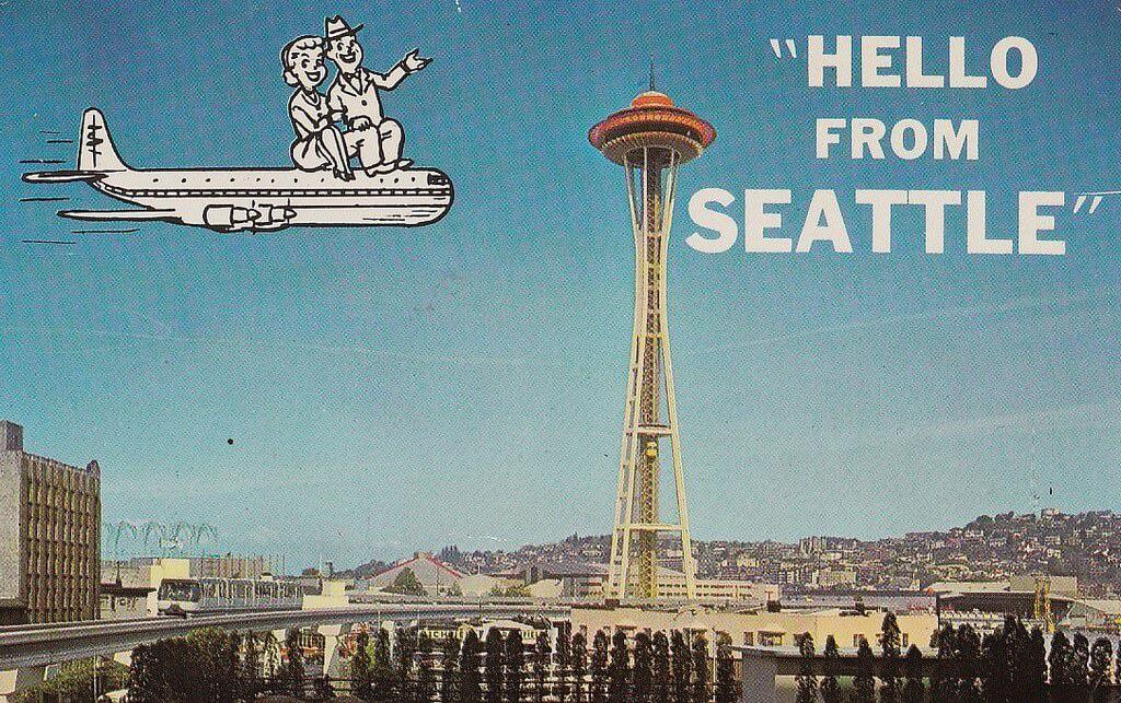 Vintage Seattle Archives  Seattle Map