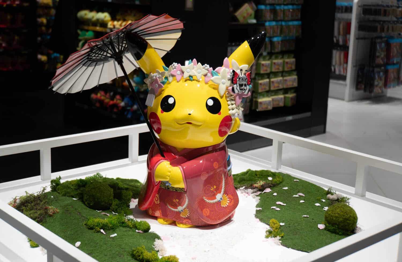 kimono pikachu at kyoto pokemon center otaku kyoto geeky kyoto