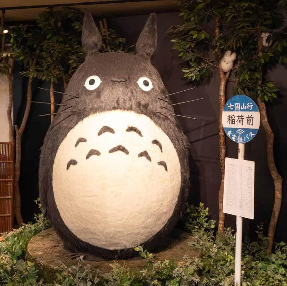 totoro bus stop sign otaku kyoto geeky kyoto studio ghibli