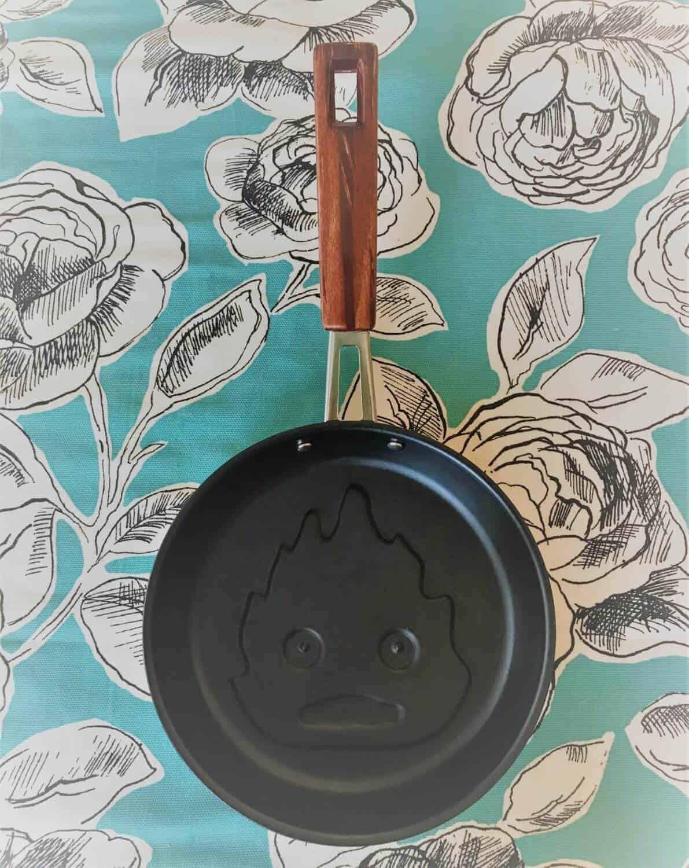 calcifer pancake pan geeky kyoto otaku kyoto
