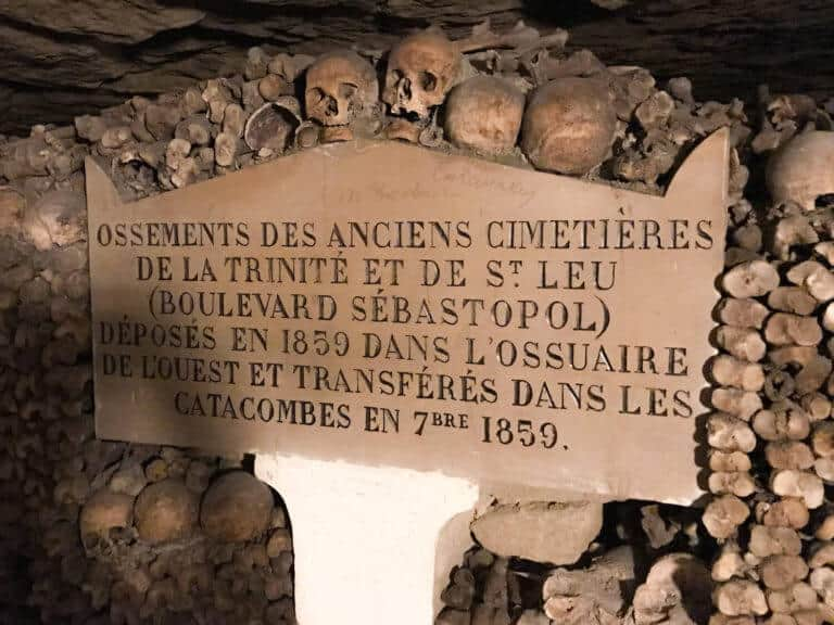 Getting to the Paris Catacombs: A Map
