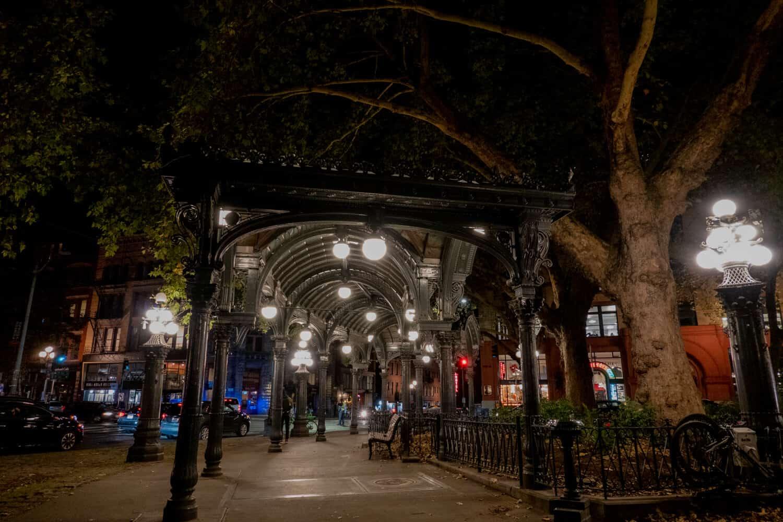 Pioneer Square Pergola Seattle Ghost Tours