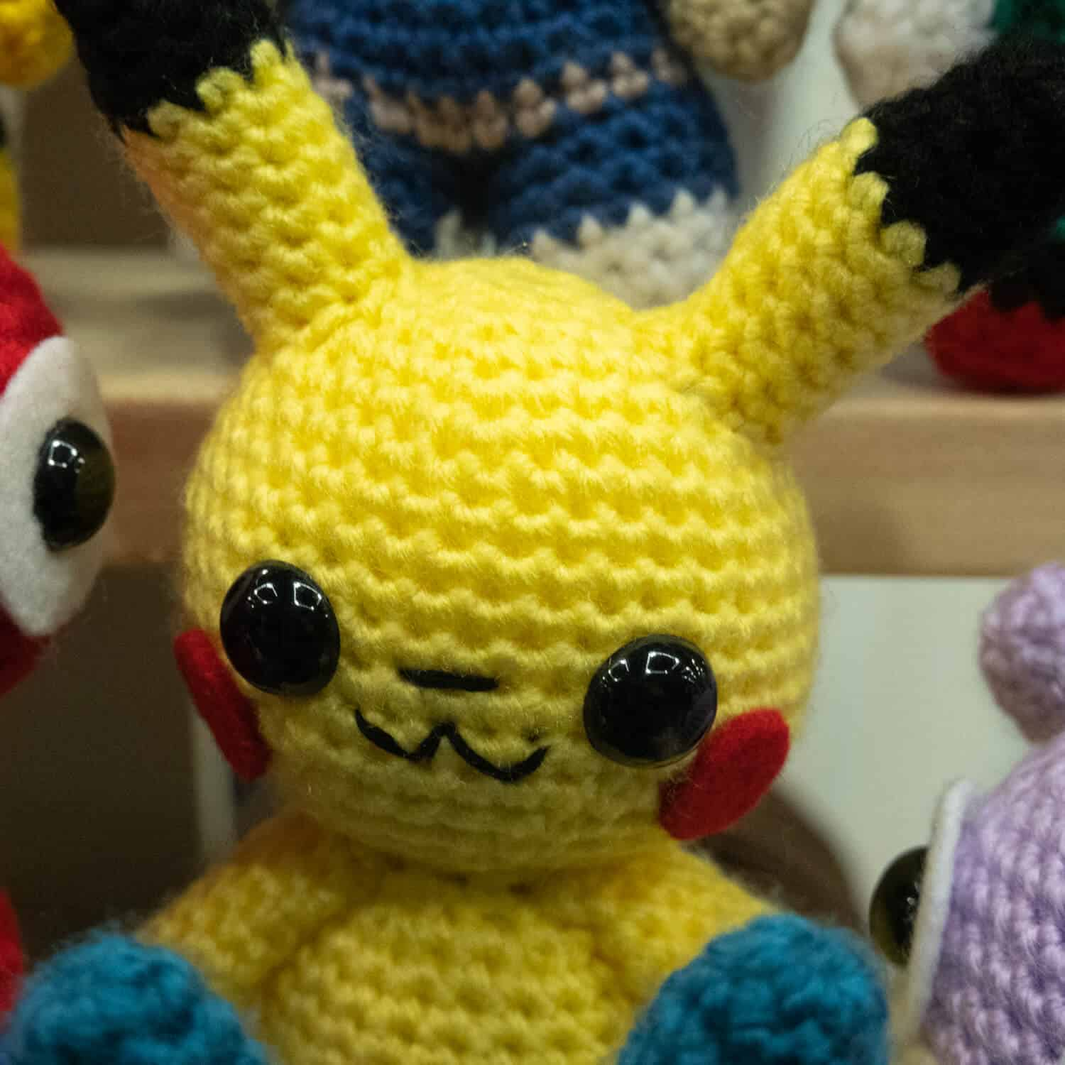 crocheted pikachu from crocheted by rikki