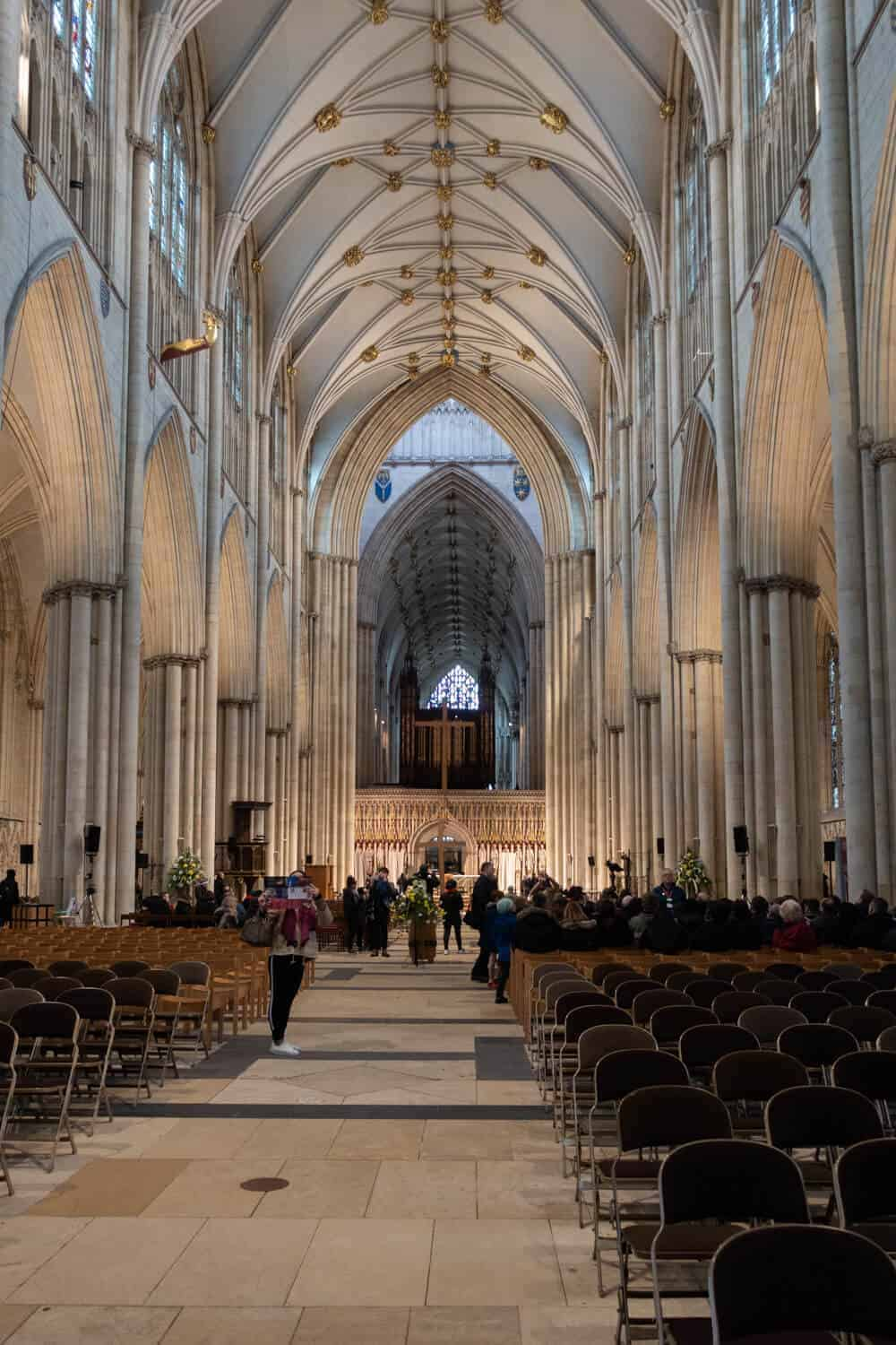 Visiting York Minster Cathedral