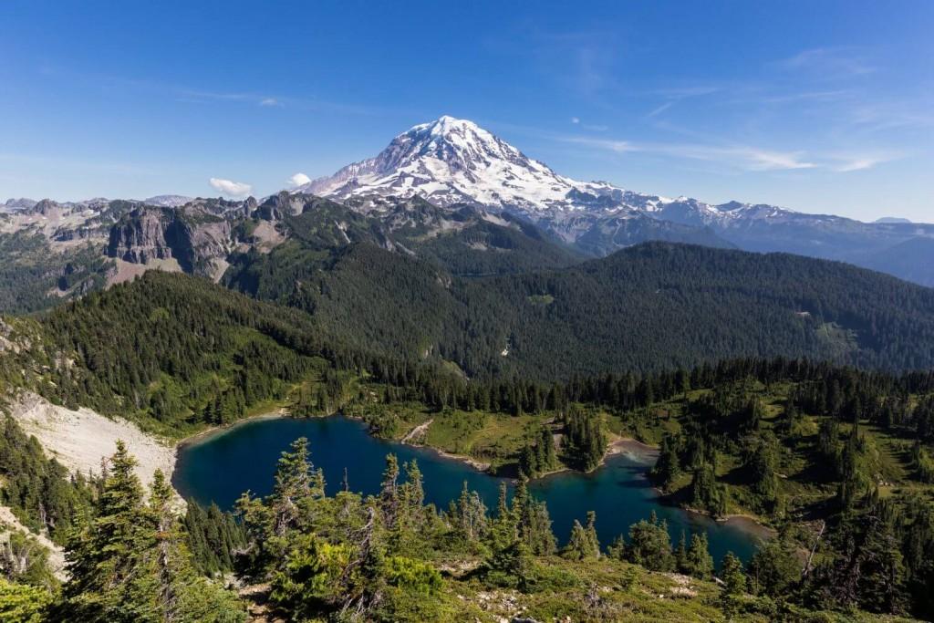 Tolmie Peak Mount Rainier National Park