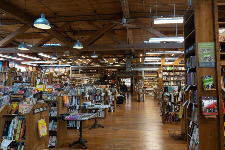 Independent Bookstores Map