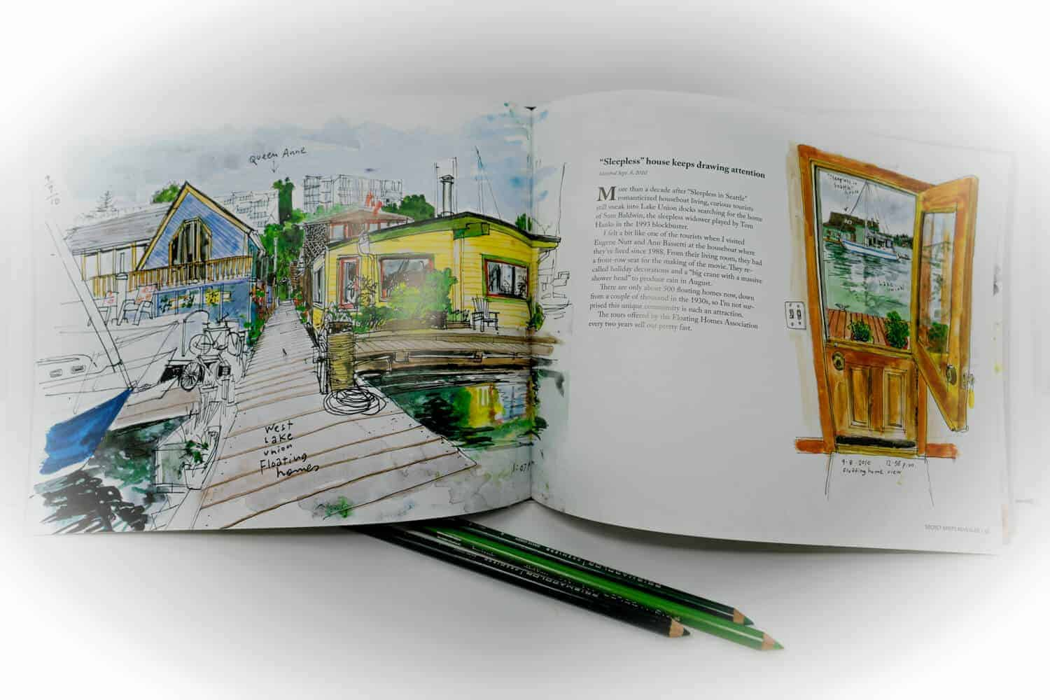 Seattle Sketcher Travel Sketch Book