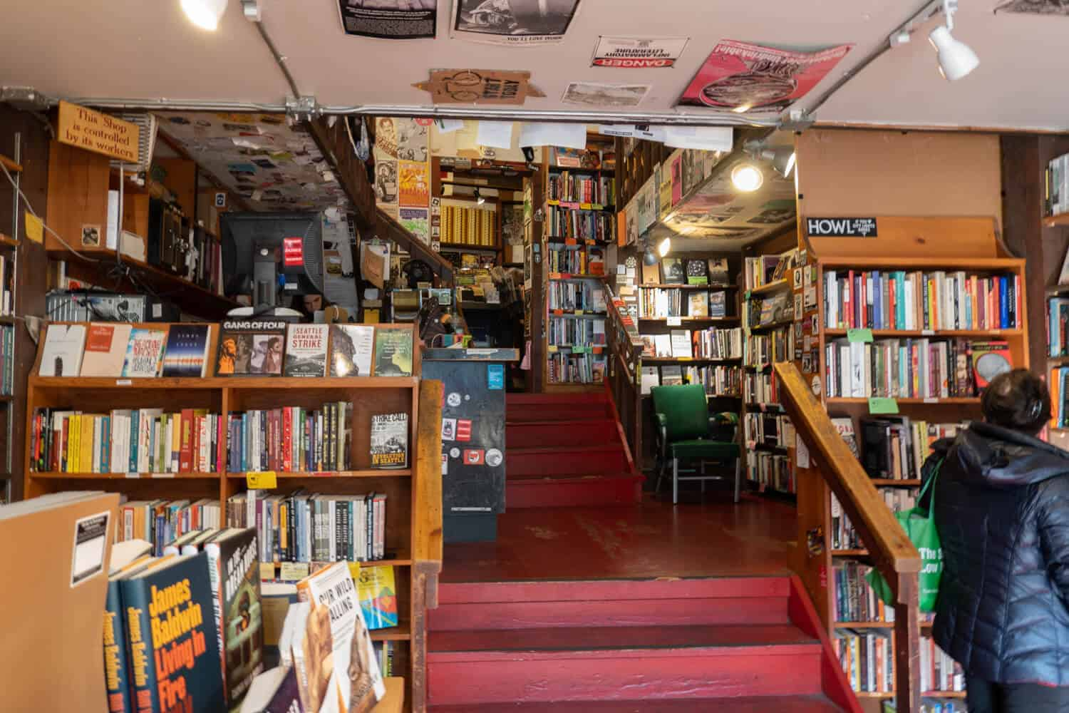 Left Bank Books Best Bookstores in Seattle Bookstores Seattle Independent Bookstores