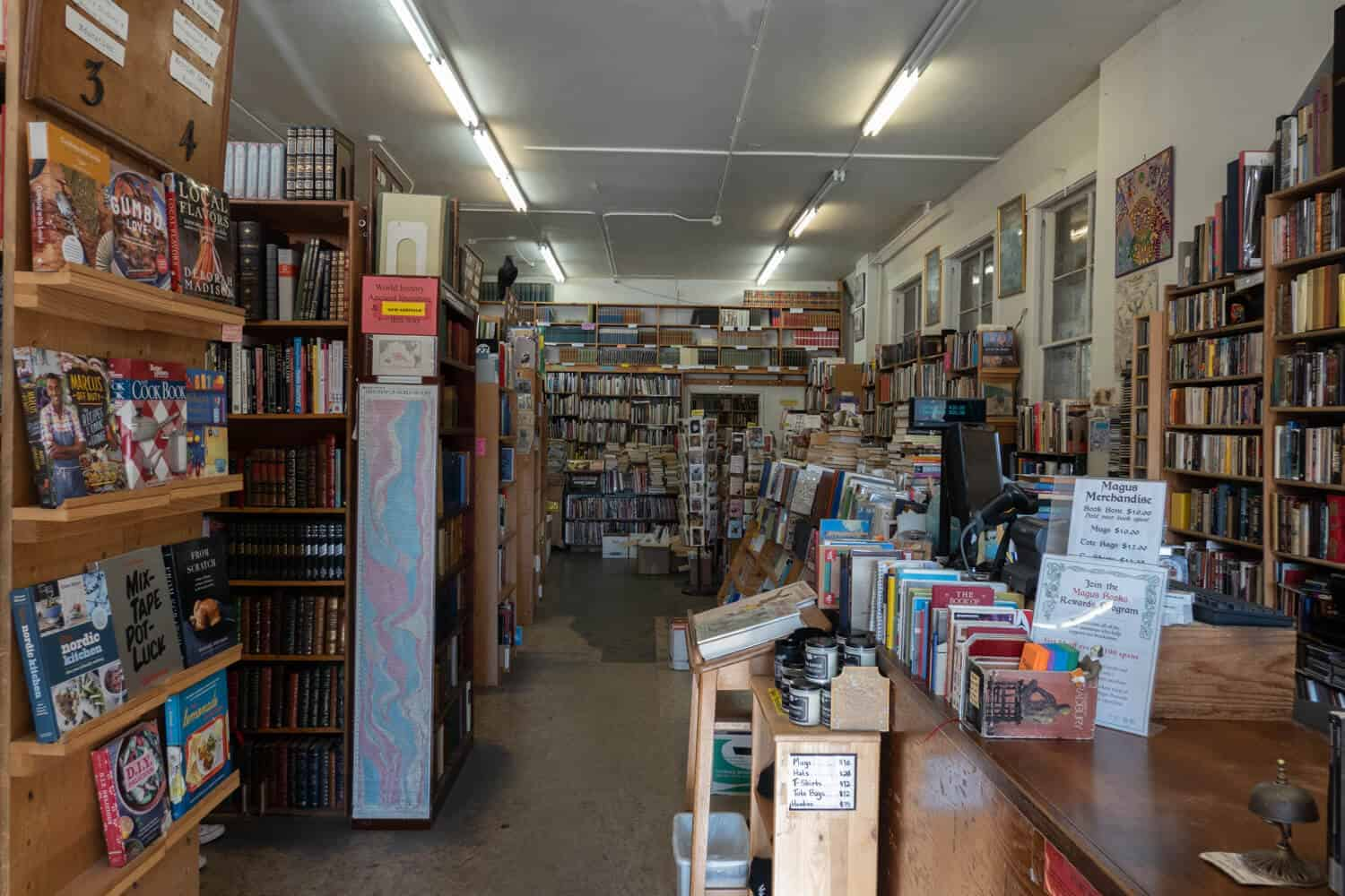 Magus Books Seattle Best Bookstores in Seattle Bookstores Seattle Independent Bookstores