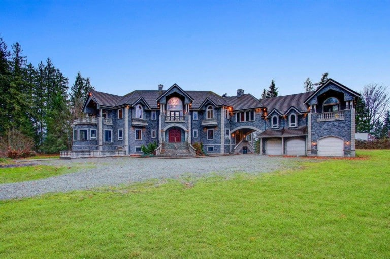 Rent a 22,000 sq ft luxury Castle in the PNW for less than $100/person!