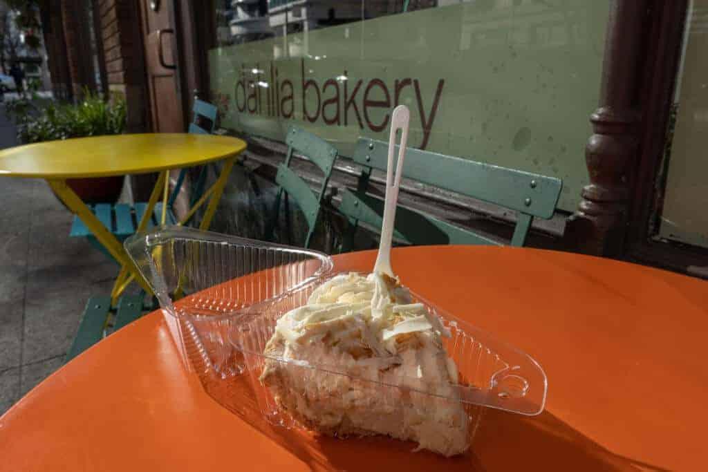 Coconut Cream Pie at Dahlia Bakery