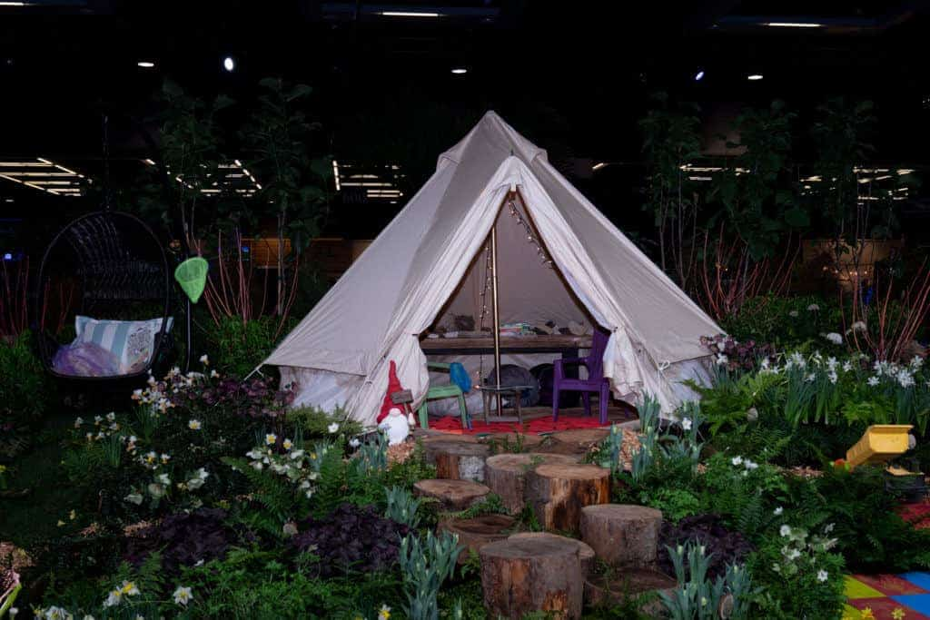 Glamping garden 2020 Northwest Flower and Garden Festival