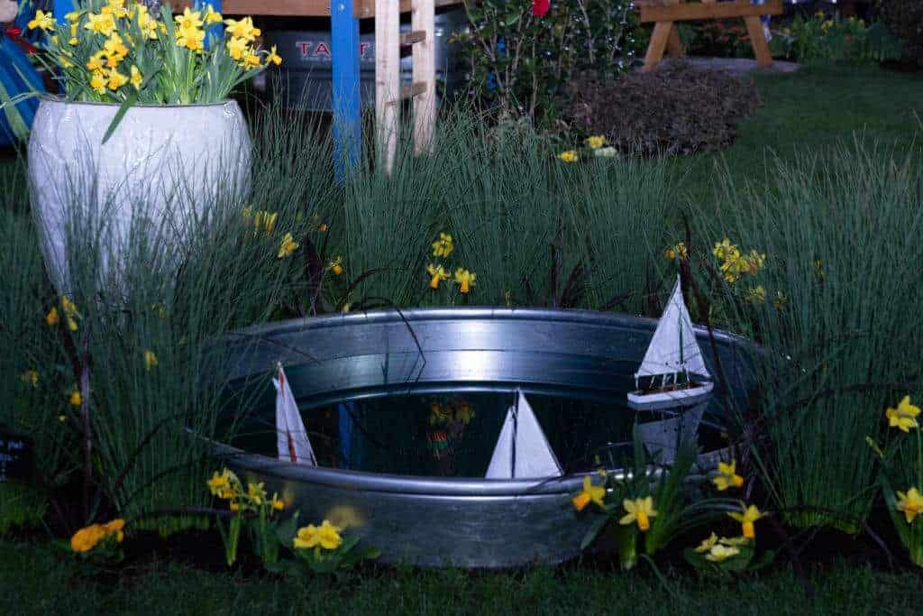 Kids Sailboat Pond 2020 Northwest Flower and Garden Festival