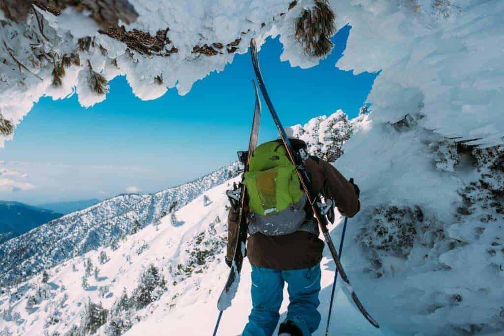 what to bring ski camping