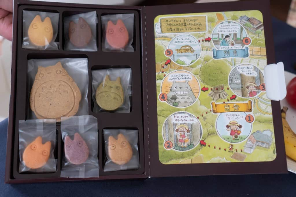 Totoro Cookies Shirohige Cream Puff Factory Totoro Cafe Totoro Cream Puffs