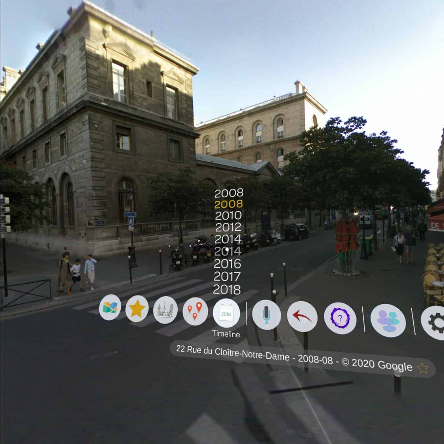 Wander app street view Paris online virtual tours best vr travel experiences