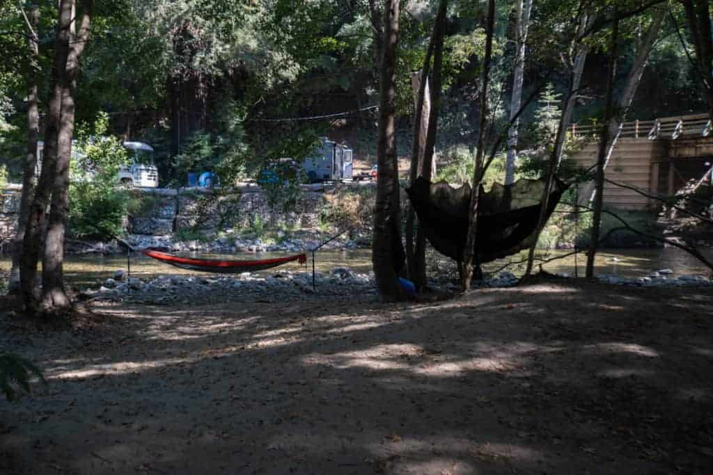 Our Hammock Camping City