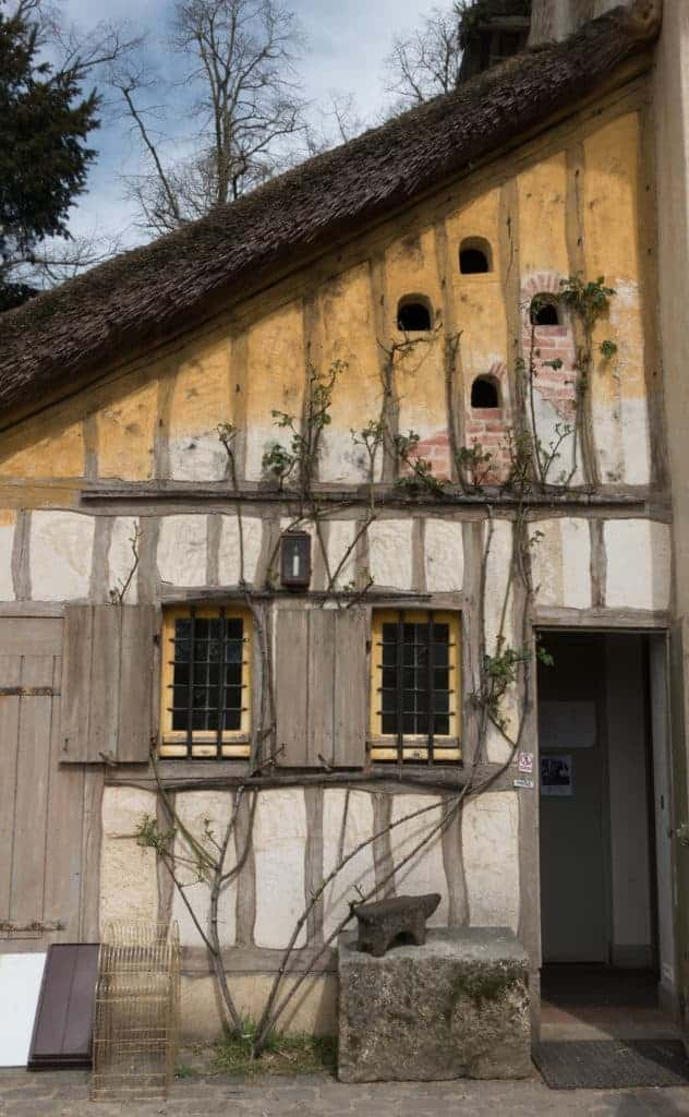 Charming house with vine at Marie Antoinette's hamlet at Versailles