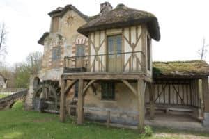 House with Waterwheel on Marie Antoinette's Farm