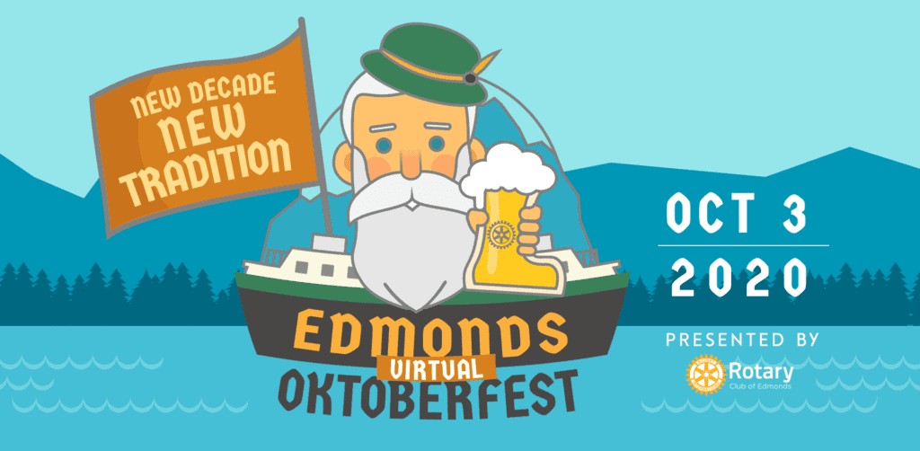 Edmonds Oktoberfest Virtual Event Puget Sound Autumn activities 2020